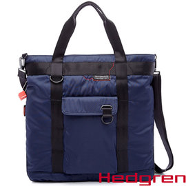 Hedgren HNW ~New Way 摩登商務系列~13吋兩用托特包~靛藍色