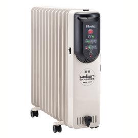 德國 嘉儀 HELLER 10葉片 電子式遙控電暖爐 KED-510T / KED510T