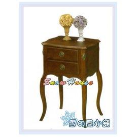 ╭~雪之屋居家 館~╯AA564~03 1393方型拼花電話桌 置物櫃 床頭櫃 收納架 收