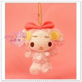 小花花  Hello Kitty 美樂蒂 絨毛娃娃玩偶布偶 吊飾 手機吊飾包包掛飾 變裝羊
