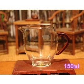 耐熱玻璃加厚公道杯茶漏隔套裝分茶器茶海公杯臺灣功夫茶具