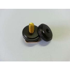 加強版 1 4 螺孔轉熱靴插座 大號雙螺絲可上下鎖緊