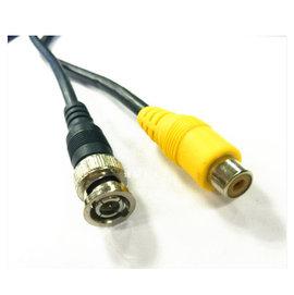 監視器/監控裝置 BNC(公)轉RCA黃(母) AV端轉接線/轉換線/訊號線 **1米**