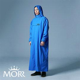 ~MORR~PostPosi 反穿雨衣  皇家藍