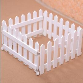 木質柵欄 白色實木圍欄 籬笆 護欄 圍欄片 庭院裝飾 用品