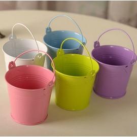 鐵藝花筒 花桶花盆 插花花藝鐵藝 鐵皮花瓶 仿真花花器鐵皮桶