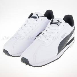 PUMA Turin 賽車鞋-白/黑-360116-04