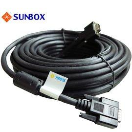 SUNBOX 7米VGA線 支援1920^~1080p ^(Full HD^) 高解晰度