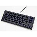 銀鍵盤 Ducky One 80% 1687S鍵機械式鍵盤~黑蓋 中文 藍光