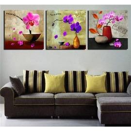 裝飾畫客廳沙發背景�椈懇e無框畫版畫餐廳臥室床頭掛畫蝴蝶蘭花