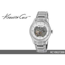 ~時間道 ~~Kenneth Cole~KC~簍空 錶面 腕錶 簍空鋼帶  KC10027