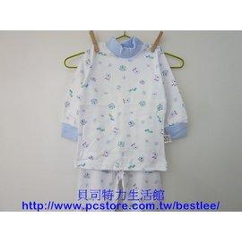 500S 雙面棉長袖套裝^(立領開肩^) 22號 ^|^| 小三福^(1~2歲^) ^|^