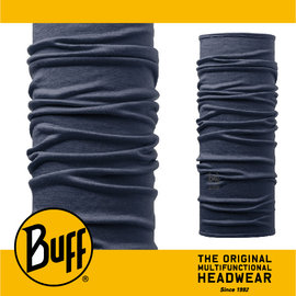 ∥萬特戶外 休閒∥ BUFF 西班牙魔術頭巾 美麗諾羊毛系列 ^~丹寧素面^~ BF108