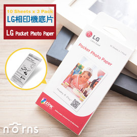 NORNS ~LG底片 Pocket Photo 底片30張~隨身印 口袋相印機相紙PD2