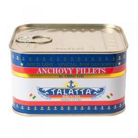Talatta 油漬鯷魚罐 易開中罐 經濟包裝 350g 海鮮義大利麵 青醬材料 Tala