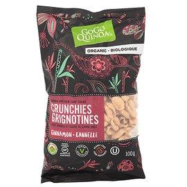 Gogo Quinoa 有機米藜麥脆片~肉桂~100G