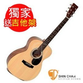 Sigma OMM~ST(送吉他架) 單板民謠吉他 (OMMST 雲杉面單板 OM桶身)