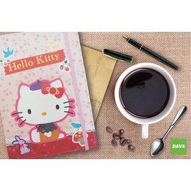 三麗鷗 Hello Kitty 旅遊手記 含夾鏈袋 尺寸25K 鬆緊帶 共有四款 定價23