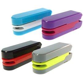 ~金玉堂文具~Inozto 4合1 多 拆信刀、除針器、訂書機、打孔機~黑色 灰色 藍色
