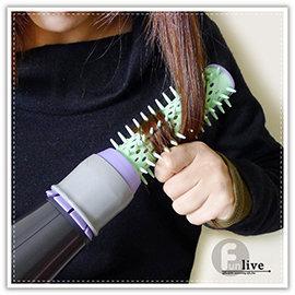 【Q禮品】A2841 吹風機捲髮梳/魔力吹風機 捲髮梳/捲髮罩/捲髮器/髮尾捲髮棒/熱烘罩/捲髮筒/弧型髮尾/鮑伯頭