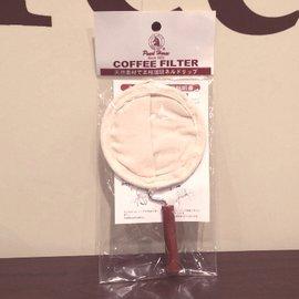 ~北極海咖啡~板橋~寶馬牌 3~4人份法蘭絨手柄式咖啡濾布 TA~W~001~003