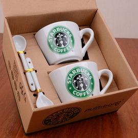生日 學生  星巴克情侶套杯馬克杯咖啡杯 送男女友