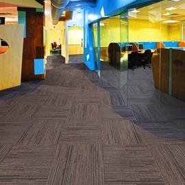 辦公室地毯 方塊地毯加厚條紋辦公賓館商用地毯方塊毯