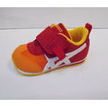 ^~陽光樂活^~ASICS 亞瑟士 紅X橘 童鞋 IDAHO BABY GR~ES 2 T