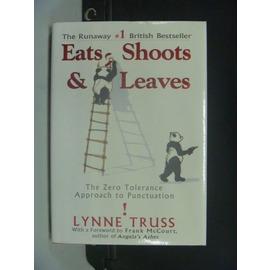 ~書寶 書T6╱原文書_JEW~Eats Shoots   Leaves_Lynne Tr