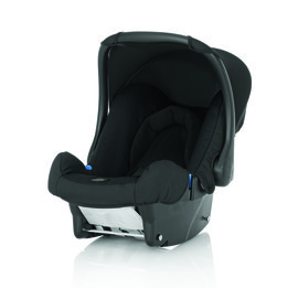 【紫貝殼】『GCA05-6』英國原裝進口 Britax BABY-SAFE 基本款提籃型安全汽車座椅(汽座) -黑【英國皇室御用品牌