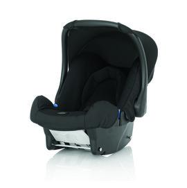 【紫貝殼】『GCA05-6』Britax BABY-SAFE 基本款提籃型安全汽車座椅 黑【英國皇室御用品牌