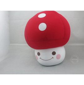 微粒^(粒子^)玩具 蘑菇抱枕