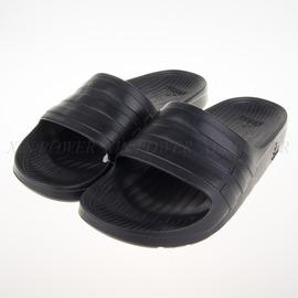 ADIDAS  Duramo Slide系列 運動拖鞋-黑武士 黑-S77991