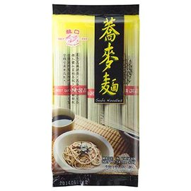 之高纖健康蕎麥製成,口感紮實帶著淡淡自然蕎麥清香,好吃又清爽^!