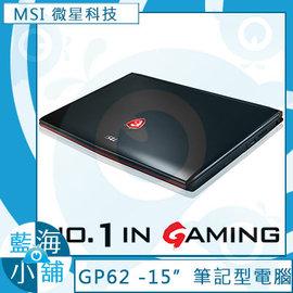 MSI微星 GP62 ^(Leopard Pro^) 6QE Intel Core i7~