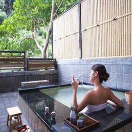【烏來名湯 - 10 張組】大眾裸湯 / 室內湯屋 / 露天湯屋 , 通用+飲料