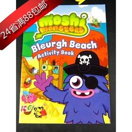 moshi monsters莫西怪獸游戲手工原版英文繪本英語兒童書