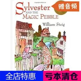 英文繪本 Sylvester and the Magic Pebble驢小弟變石頭