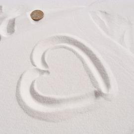 400克天然極細白沙 沙漏白石英沙兒童玩具砂 魚缸地臺婚禮裝飾