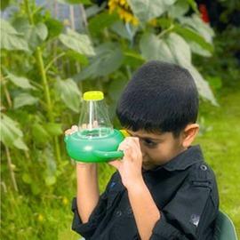 出口歐洲 兒童昆蟲器放大鏡 昆蟲觀察器 雙向放大器 科學探索玩具