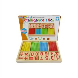 數字棒數棒兒童早教益智學習棒數學棒早教教具幼稚園教具木制玩具