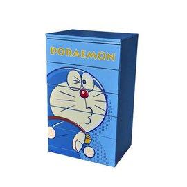 ~玫瑰物語~木製小叮噹哆啦a夢五斗櫃五抽屜櫃置物櫃收納櫃兒童衣櫃玩具箱哆啦A夢 製卡通 藍