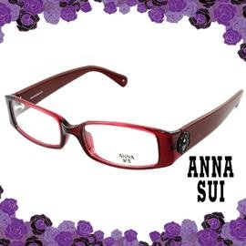 ANNA SUI 安娜蘇 低調立體雕花 光學框^(紅^) AS509282