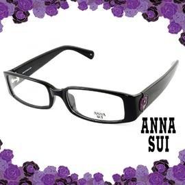 ANNA SUI 安娜蘇 低調立體雕花 光學框^(黑^) AS509001