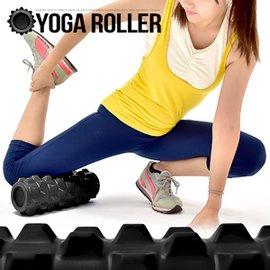 特硬PU深層加強狼牙棒C109-5702 凸狀顆粒瑜珈滾輪.美人棒瑜珈柱指壓瑜珈棒.深度按摩滾筒FOAM ROLLER.運動健身器材推薦