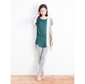 ~Yin Yang~100%Modal草木染和諧束腰外衣 峇里島製 瑜珈服