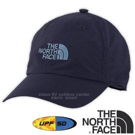 【美國 The North Face】新款 HORIZON BALL CAP 超輕透氣耐磨抗UV棒球帽(吸濕排汗_防風遮陽帽)防曬帽/抗紫外線 CF7W 宇宙藍/月光藍