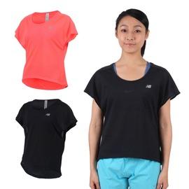 NEW BALANCE 女短袖T恤(紐巴倫 上衣 慢跑 路跑 休閒 圓領【03312223】≡排汗專家≡