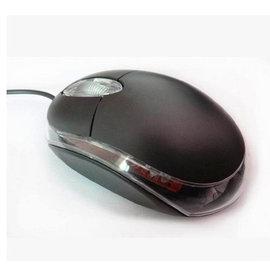筆電/PC 隨插即用 帶USB 迷你光學滑鼠 (黑)  [FMO-00001]