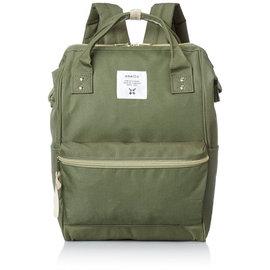 【黑皮酱】anello 日本空运来台 人气款后背包 超大开口设计 超大容量